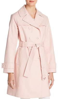 Kate Spade Double-Breasted Bow Back Trench Coat