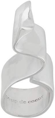 Coup De Coeur Wave ring