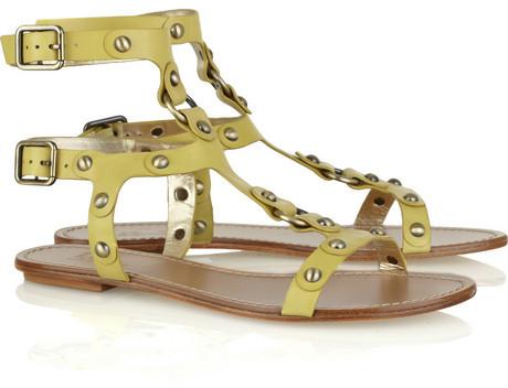 Belle Sigerson Morrison Leather gladiator sandals
