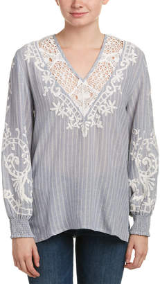 Love Sam Embroidered Top