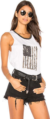 Nation LTD Crescent Heights Tank in White $66 thestylecure.com