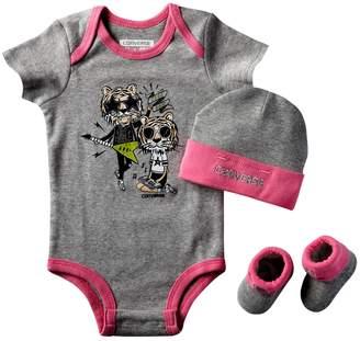 Converse Infant 3 Piece Baby Set (0-6 Months, )