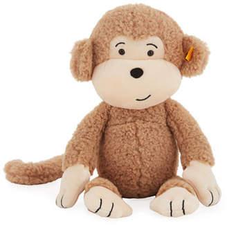 """Steiff Brownie Stuffed Animal Monkey, 12"""""""