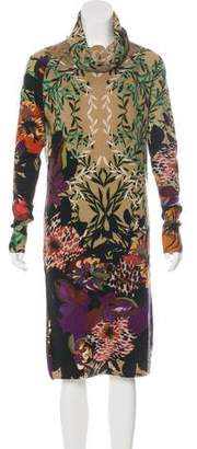Etro Wool & Cashmere-Blend Dress