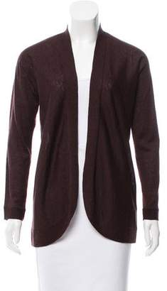 Eileen Fisher Open-Front Knit Cardigan