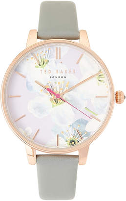 Ted Baker TE50493006 Rose Gold-Tone Floral Watch