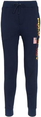 Polo Ralph Lauren logo print sweatpants