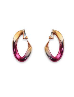 broken chain earrings