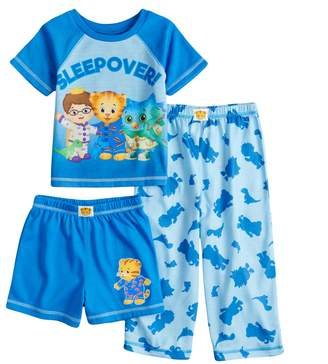Todder Boy Daniel Tiger Prince Wednesday O The Owl Top Bottoms Pajama Set