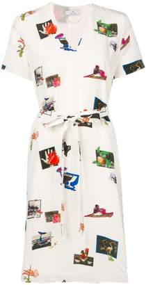 Paul Smith graphic print shirt dress