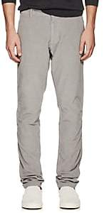 Tomas Maier MEN'S COTTON CORDUROY STRAIGHT-LEG TROUSERS-SILVER SIZE 31