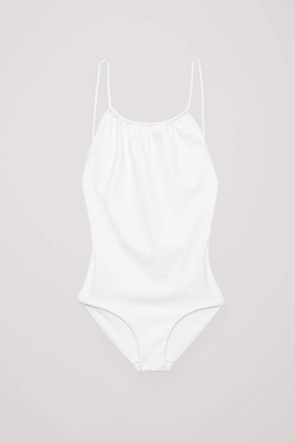 SWIMSUIT WITH TIE BACK