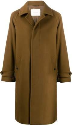 MACKINTOSH BLACKRIDGE Camel Wool & Cashmere Oversized Overcoat GM-113F