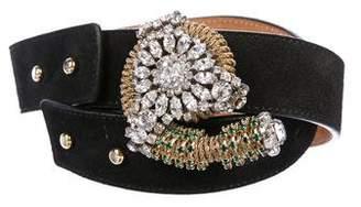 Vionnet Vintage Jewel-Embellished Belt