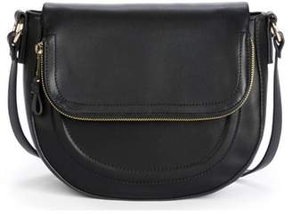 Sole Society Adden Faux Leather Crossbody Bag