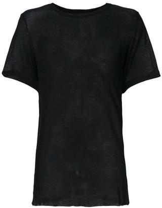 Ann Demeulemeester sheer T-shirt