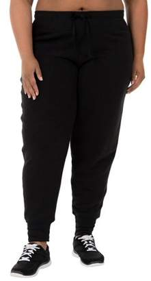 Fruit of the Loom Fit for Me by Women's Plus-Size French Terry Jogger Pant