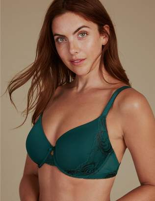 Marks and Spencer Perfect Fit Lace Padded Full Cup Bra A-E