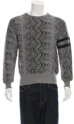 Michael Bastian Intarsia Wool Sweater