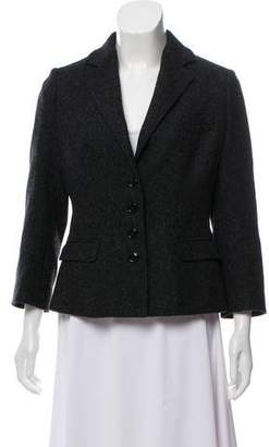 Dolce & Gabbana Wool Notch-Lapel Blazer