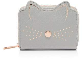 Ted Baker Lohana Cat Whiskers Small Leather Zip Coin Purse