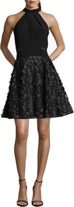 Xscape Evenings 3D Floral Party Dress
