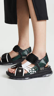 Toga Pulla Woven Sporty Sandals