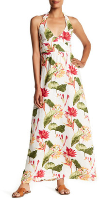 Tommy Bahama Tropical Lilies Halter Linen Dress $158 thestylecure.com