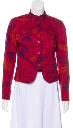 Etro Printed Button-Up Jacket