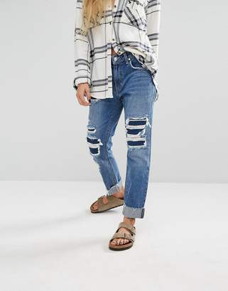Lovers + Friends Ezra Slim Boyfriend Jeans