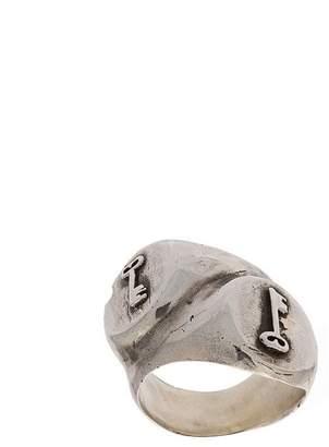 Henson keys double signet ring