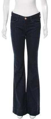 Earnest Sewn Mid-Rise Wide-Leg Jeans