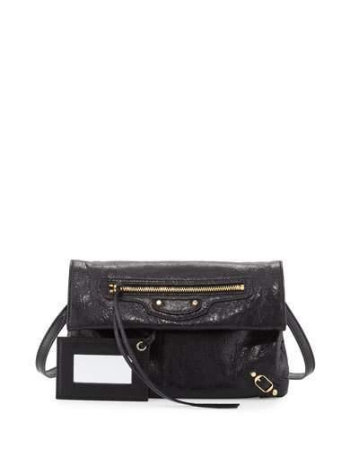 Balenciaga Balenciaga Classic Gold Mini Envelope Crossbody Bag