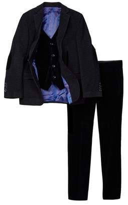 Isaac Mizrahi Rockstar 3-Piece Slim Suit (Toddler, Little Boys, & Big Boys)