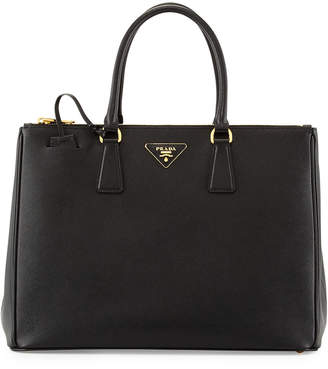 78846dff458d Prada Saffiano Medium Executive Tote Bag, Black (Nero)
