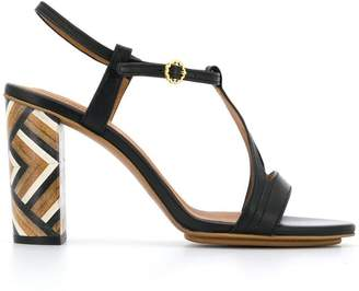 See by Chloe block heel sandals