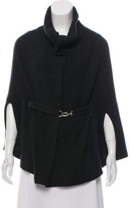 Rivamonti Virgin Wool Knit Poncho