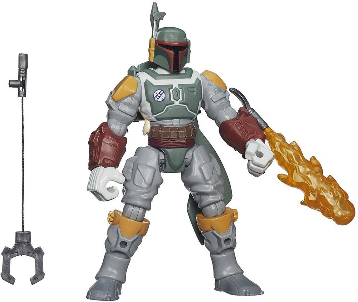 Star Wars Hm Deluxe Epvi Boba Fett With Gear