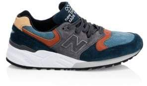 New Balance 999 Colorblock Suede Active Runners