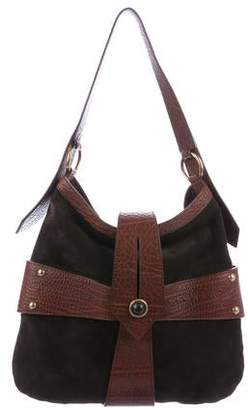 9624e8de966a Saint Laurent Suede Cross Shoulder Bag