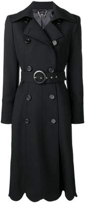 Elisabetta Franchi wave cropped coat