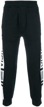 Neil Barrett Vision piped track pants