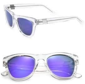 e6cb053462 Westward Leaning Women s Pioneer Seven 53MM Square Sunglasses - Clear Purple