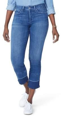 NYDJ Sheri Wide Release Hem Ankle Jeans