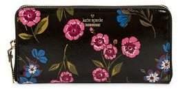 Kate Spade Floral Zip-Around Wallet