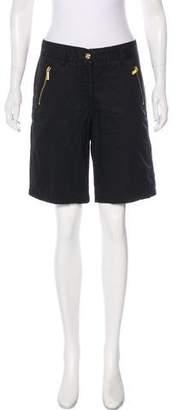 MICHAEL Michael Kors Structured Knee-Length Shorts