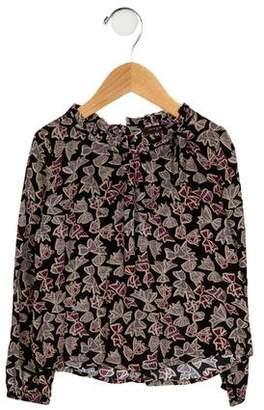 Imoga Girls' Printed Long Sleeve Top