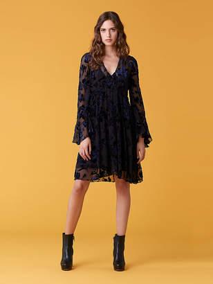 Diane von Furstenberg Adelita Velvet Dress