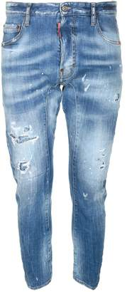 DSQUARED2 Distressed Spray Tidy Jeans