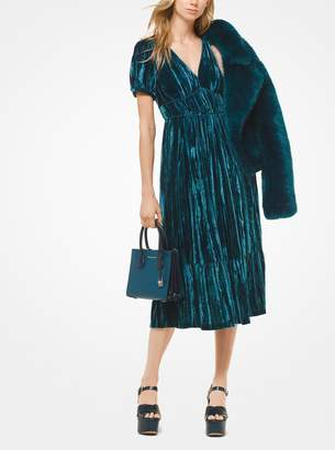 MICHAEL Michael Kors Tiered Velvet Dress